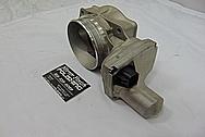 2007 Chevy Corvette LS2 Aluminum Throttle Body BEFORE Chrome-Like Metal Polishing - Aluminum Polishing Services