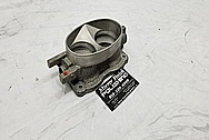 2003 - 2006 Dodge Viper Aluminum Throttle Body BEFORE Chrome-Like Metal Polishing - Aluminum Polishing