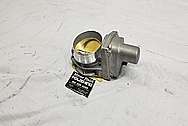 Aluminum Throttle Body BEFORE Chrome-Like Metal Polishing - Aluminum Polishing Services