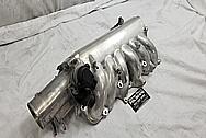 1993 - 1998 Toyota Supra Aluminum Throttle Body BEFORE Chrome-Like Metal Polishing - Aluminum Polishing Services