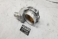 GM LS Aluminum Throttle Body BEFORE Chrome-Like Metal Polishing - Aluminum Polishing Services