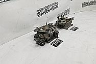 Mazda RX-7 Aluminum Throttle Body BEFORE Chrome-Like Metal Polishing - Aluminum Polishing Services