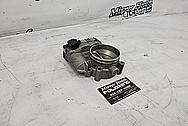 Aluminum Throttle Body BEFORE Chrome-Like Metal Polishing - Aluminum Polishing Services