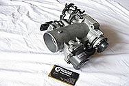1993-1998 Toyota Supra 2JZ-GTE Aluminum Throttle Body BEFORE Chrome-Like Metal Polishing and Buffing Services