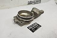 Aluminum Throttle Body BEFORE Chrome-Like Metal Polishing - Aluminum Polishing - Throttle Body Polishing