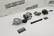 Toyota Supra Aluminum Throttle Body BEFORE Chrome-Like Metal Polishing - Aluminum Polishing - Throttle Body Polishing
