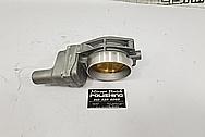 Aluminum LS Throttle Body BEFORE Chrome-Like Metal Polishing - Aluminum Polishing - Throttle Body Polishing