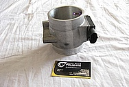 Ford G3 Aluminum Mass Air Meter BEFORE Chrome-Like Metal Polishing and Buffing Services