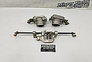 Nissan 300ZX Aluminum Throttle Body BEFORE Chrome-Like Metal Polishing - Aluminum Polishing - Throttle Body Polishing