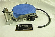 Chevrolet ZL-1 V8 Aluminum Throttle Body BEFORE Chrome-Like Metal Polishing and Buffing Services