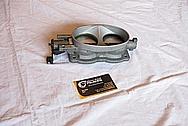 2003 - 2006 Dodge Viper V10 Aluminum Throttle Body BEFORE Chrome-Like Metal Polishing and Buffing Services