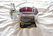 1993 - 1998 Toyota Supra 2JZ - GTE RMR Racing Aluminum Throttle Body BEFORE Chrome-Like Metal Polishing and Buffing Services