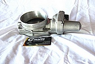 2009 Pontiac G8 GT Aluminum Throttle Body BEFORE Chrome-Like Metal Polishing and Buffing Services