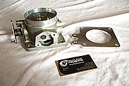 Ford Mustang Aluminum Throttle Body & EGR Delete Adapter BEFORE Chrome-Like Metal Polishing and Buffing Services