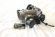 Toyota Supra 2JZ-GTE Turbo 3.0L Engine Aluminum Throttle Body BEFORE Chrome-Like Metal Polishing and Buffing Services