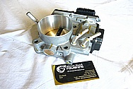 Aluminum Throttle Body BEFORE Chrome-Like Metal Polishing and Buffing Services