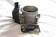 Nissan 350Z Aluminum Throttle Body BEFORE Chrome-Like Metal Polishing and Buffing Services