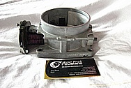 GM Aluminum Throttle Body BEFORE Chrome-Like Metal Polishing and Buffing Services