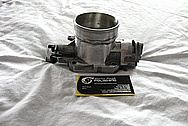 Toyota Supra 2JZ - GTE Aluminum Throttle Body BEFORE Chrome-Like Metal Polishing and Buffing Services