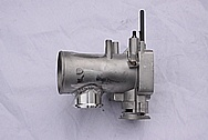 Toyota Supra 2JZ-GTE Aluminum Throttle Body BEFORE Chrome-Like Metal Polishing and Buffing Services