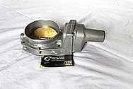 2011 Chevy Camaro Aluminum Throttle Body BEFORE Chrome-Like Metal Polishing and Buffing Services