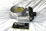 2010 Chevy Silverado 1500 Series 454 LSX Aluminum Throttle Body BEFORE Chrome-Like Metal Polishing and Buffing Services / Restoration Services