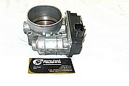 Nissan 350Z Aluminum Throttle Body BEFORE Chrome-Like Metal Polishing and Buffing Services / Restoration Services