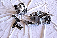 Mazda RX7 Aluminum Throttle Body BEFORE Chrome-Like Metal Polishing and Buffing Services / Restoration Services