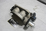 2009 Ford Mustang GT500 Throttle Body BEFORE Chrome-Like Metal Polishing and Buffing Services / Restoration Services