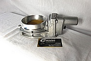 Aluminum Throttle Body BEFORE Chrome-Like Metal Polishing and Buffing Services / Restoration Services