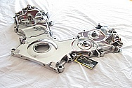 Ford Mustang Cobra Aluminum Timing Belt Cover AFTER Chrome-Like Metal Polishing and Buffing Services