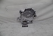 Ford 302 V8 Engine Aluminum Timing Cover AFTER Chrome-Like Metal Polishing and Buffing Services - Aluminum Polishing