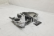 Aluminum V8 Engine Timing Cover AFTER Chrome-Like Metal Polishing and Buffing Services - Aluminum Polishing