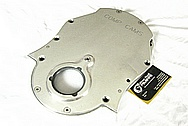 Aluminum Comp Cams Timing Cover AFTER Chrome-Like Metal Polishing and Buffing Services