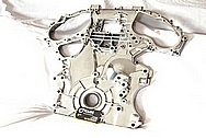 Nissan GTR Aluminum Timing Cover AFTER Chrome-Like Metal Polishing and Buffing Services / Restoration Services