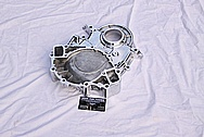 Ford 429 V8 Aluminum Timing Belt / Chain Cover AFTER Chrome-Like Metal Polishing and Buffing Services