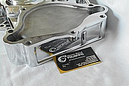 Aluminum V8 Engine Timing Cover AFTER Chrome-Like Metal Polishing and Buffing Services / Restoration Services