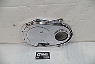 Aluminum Timing Cover AFTER Chrome-Like Metal Polishing and Buffing Services / Restoration Services