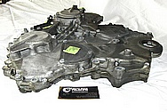 Nissan 350Z Aluminum Engine Timing Cover BEFORE Chrome-Like Metal Polishing and Buffing Services