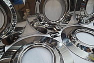 Titanium Electrodes for Manufactur Processing AFTER Chrome-Like Metal Polishing and Buffing Services / Restoration Services
