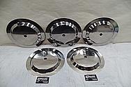 Titanium Electrodes AFTER Chrome-Like Metal Polishing - Titanium Polishing Services - Manufacturer Polishing Services
