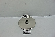 Titanium Anode AFTER Chrome-Like Metal Polishing - Titanium Polishing Services - Government Polishing Services