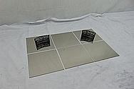 "Grade 5 Titanium .03"" and .016"" Thick AFTER Chrome-Like Metal Polishing - Titanium Polishing Services - Manufacturer Polishing"