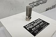 Titanium Flashlight AFTER Chrome-Like Metal Polishing - Titanium Polishing