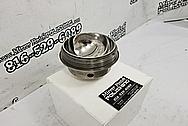 Titanium Bowl AFTER Chrome-Like Metal Polishing and Buffing Services / Restoration Services - Titanium Polishing