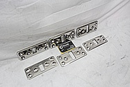 Titanium Sail Boat Plate Pieces AFTER Chrome-Like Metal Polishing and Buffing Services / Restoration Services