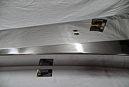 Titanium Metal Boat Part AFTER Chrome-Like Metal Polishing and Buffing Services / Restoration Services