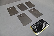 Titanium Pieces BEFORE Chrome-Like Metal Polishing and Buffing Services / Restoration Services