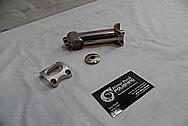 Moot Titanium Bicycle Stem BEFORE Custom Metal Polishing - Titanium Polishing