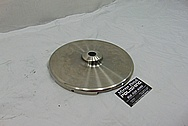 Titanium Anode BEFORE Chrome-Like Metal Polishing - Titanium Polishing Services - Government Polishing Services